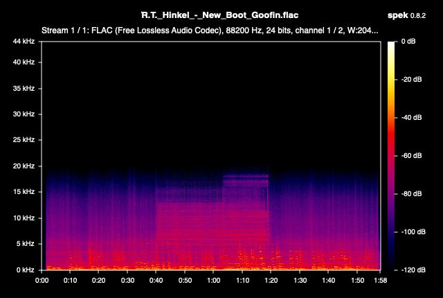 New Boot Goofin - Spectrogram