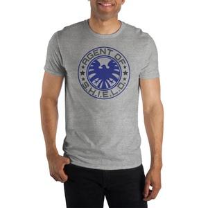 Marvel Agent of S.H.I.E.L.D. Grey Short-Sleeve T-Shirt