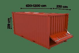 TrawlFeet - Bulk Container >
