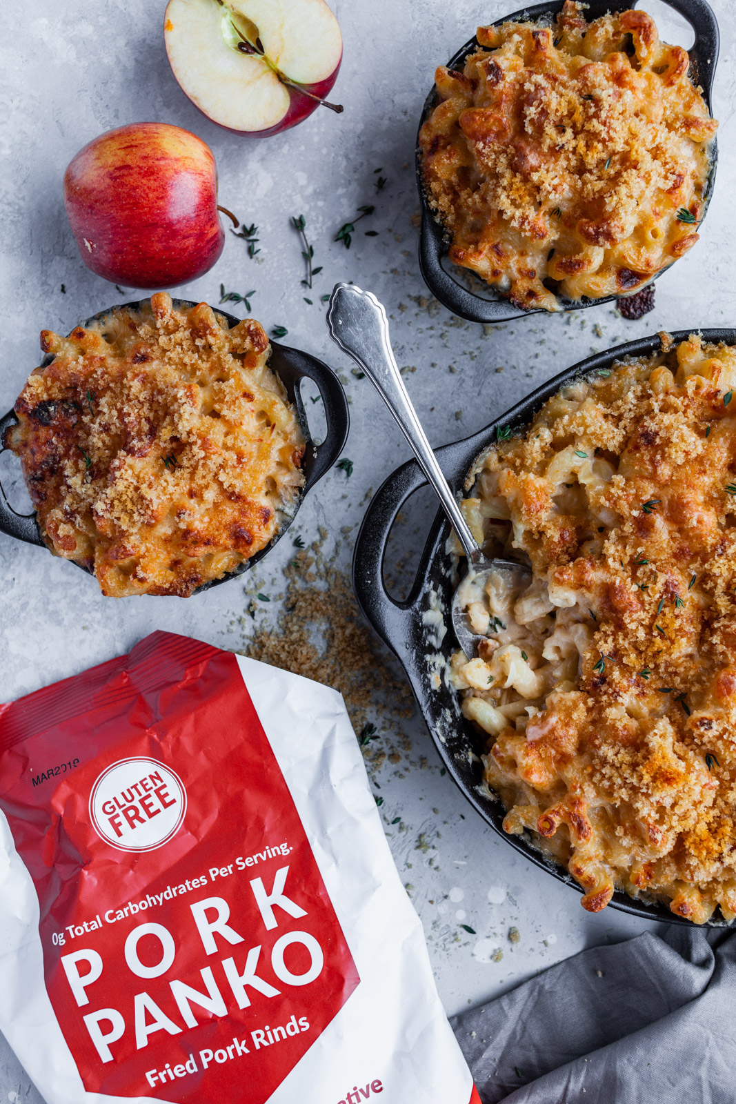 Caramelized Onion Apple Mac And Cheese
