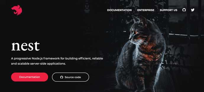 Nest website