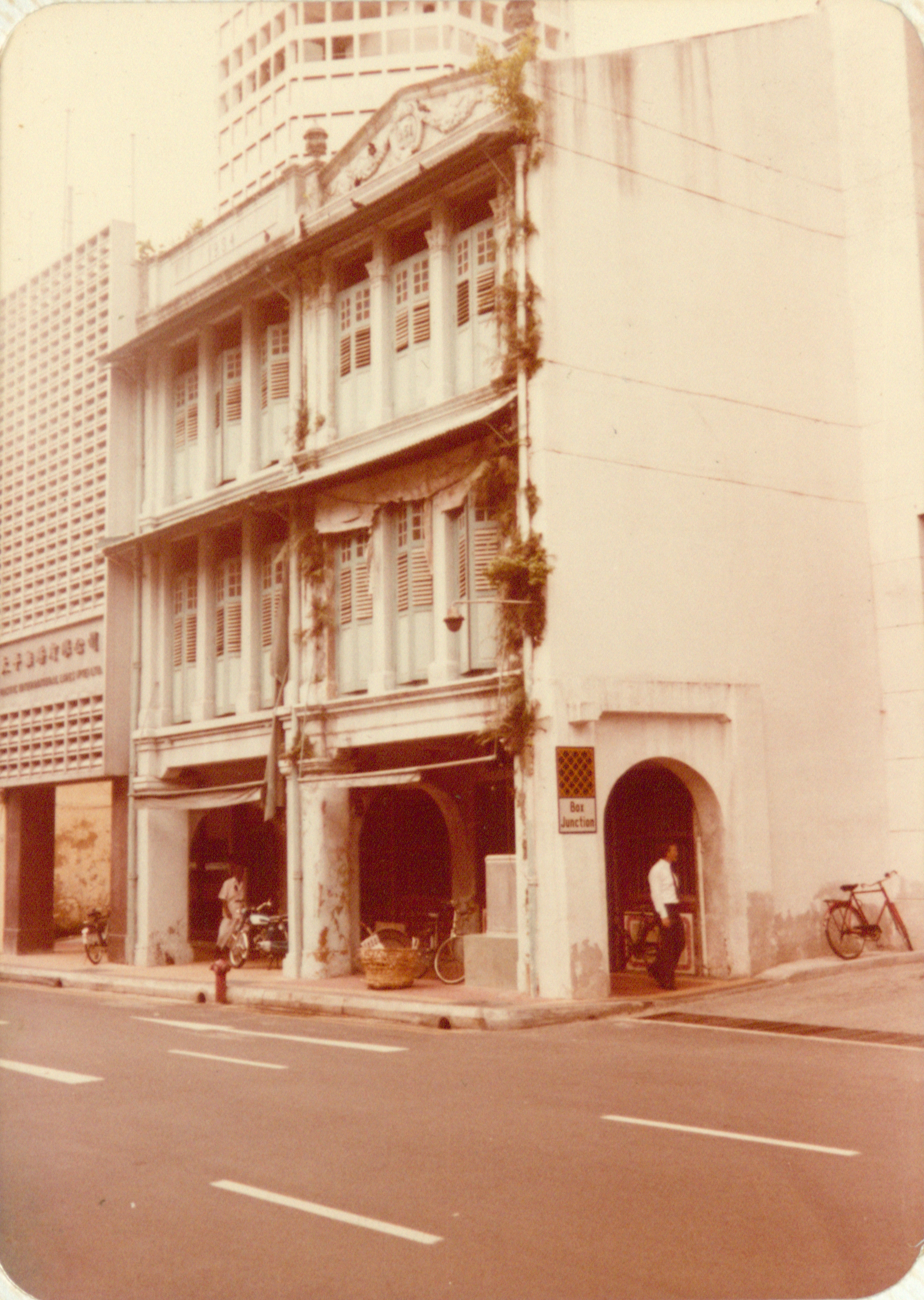 The building where the kittengi at 49 Market Street was located. Nachiappa Chettiar Collection, courtesy of National Archives of Singapore