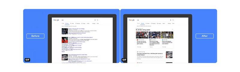 Affichage Google News