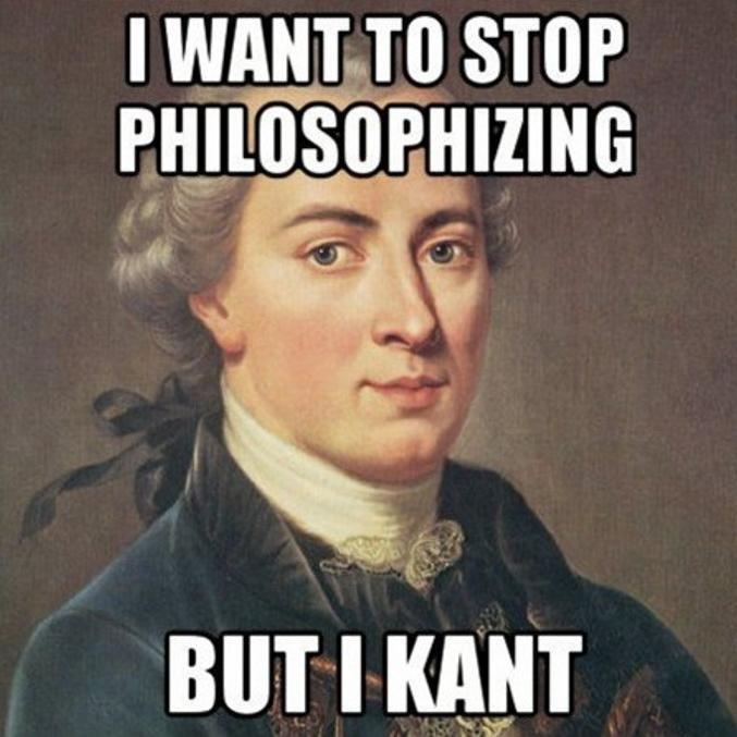 Философ Иммануил Кант — герой популярных интернет-мемов
