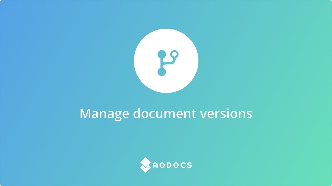 Manage Document Versions's thumbnails