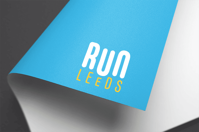 Run Leeds logo on paper