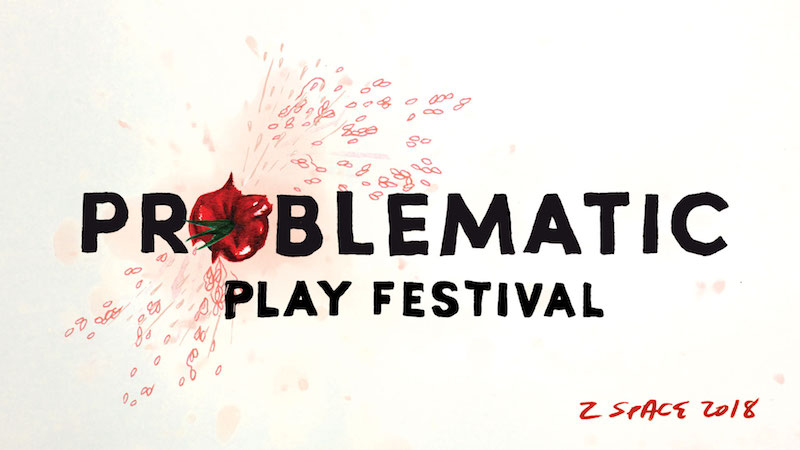 Postcard for the Problematic Play Festival.