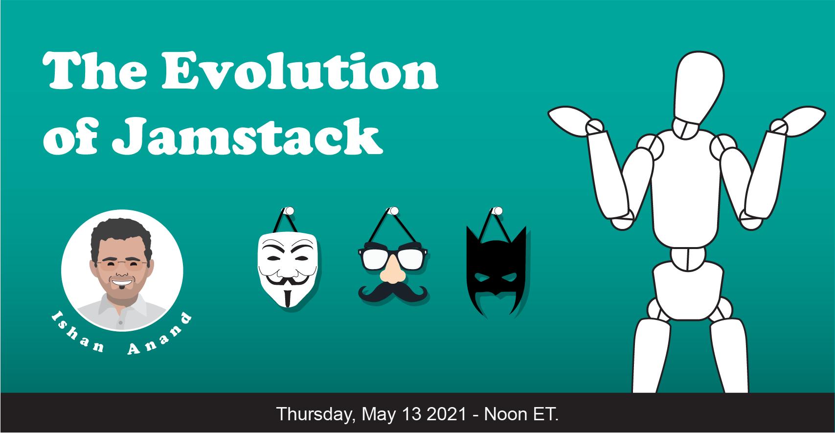 Banner for The Evolution of Jamstack