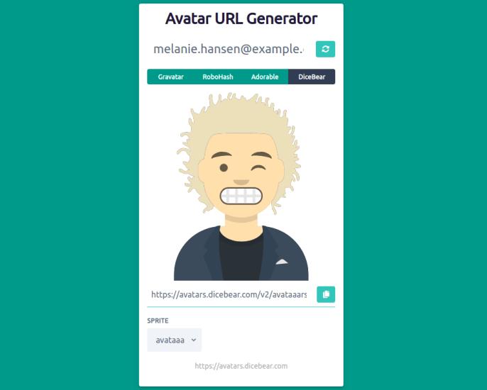 Avatar URL Generator