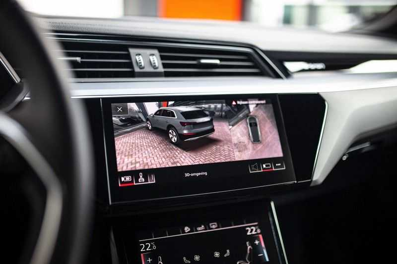 "Audi e-tron 55 Quattro *4% Bijtelling / Hulppakket Stad & Tour / 22"" / Topview* afbeelding 5"