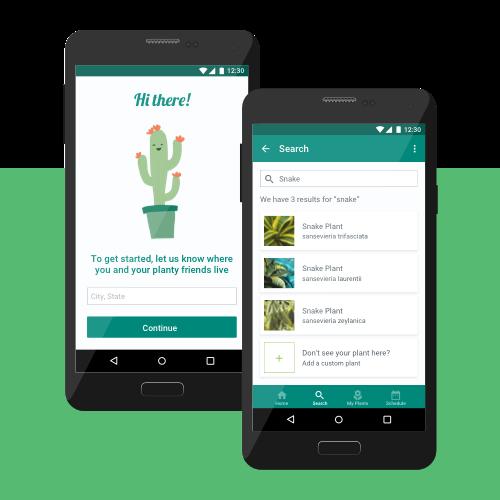 Planty Mobile App