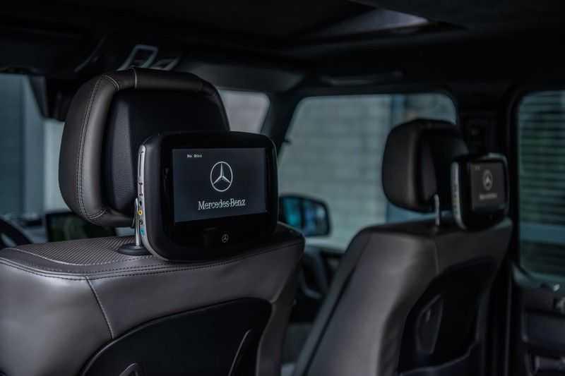 Mercedes-Benz G-Klasse 63 AMG, 571 PK, Full/Black Optiek, Schuif/-Kanteldak, TV, Harman/Kardon, Designo leder, Distronic, 57DKM!!! afbeelding 9