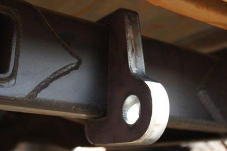 weld on shackle mount