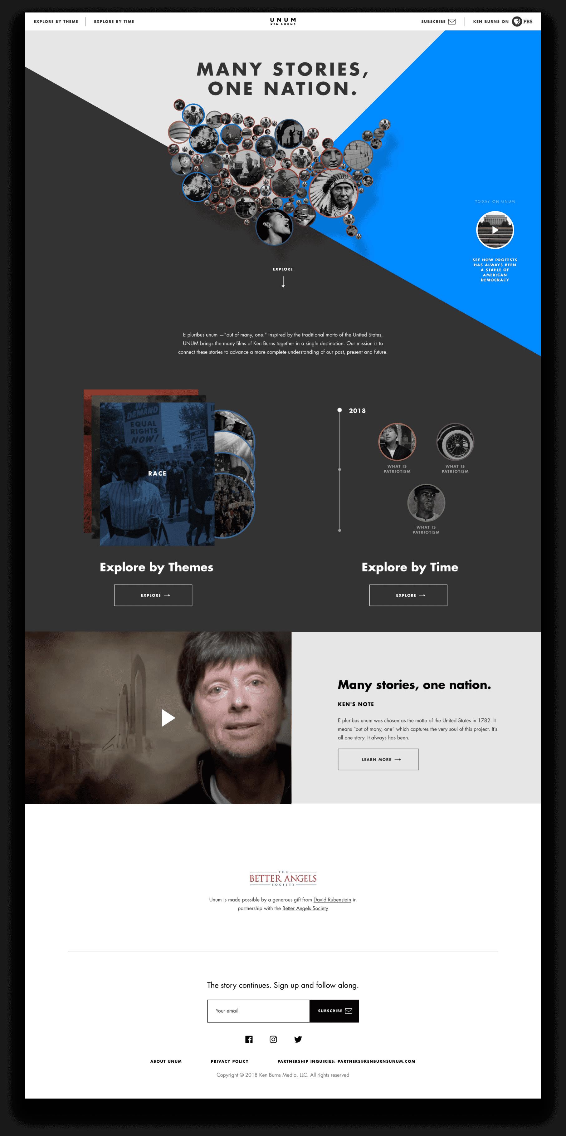 Ken Burns website