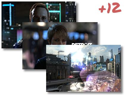Detroit Become Human theme pack