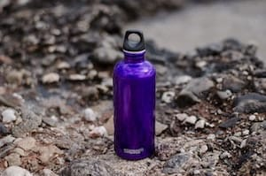 Photo of Sigg aluminum water bottles