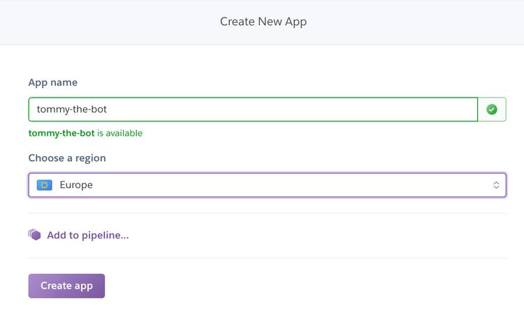 Create new app on heroku - part 2