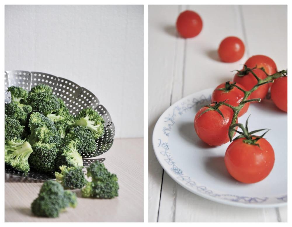 Three Color Pasta Salad with Broccoli