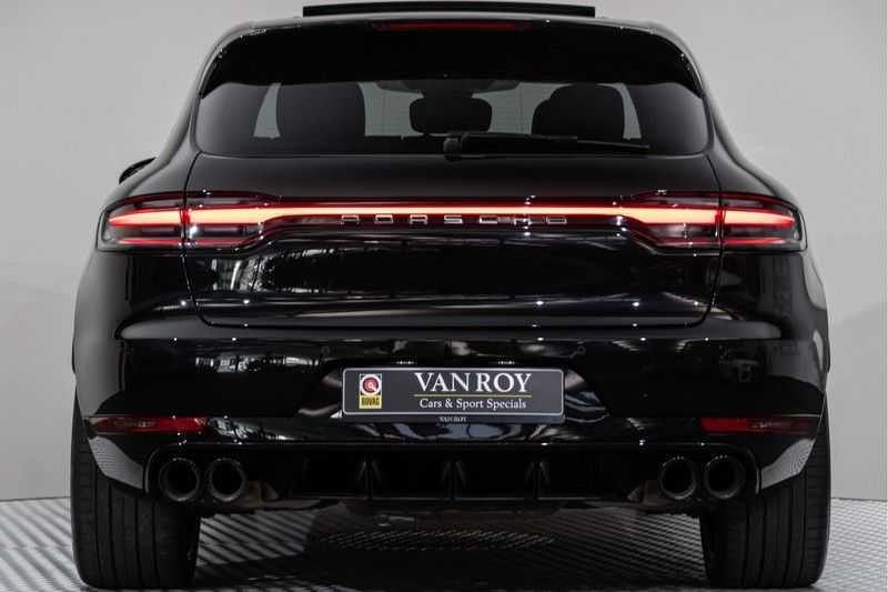 "Porsche Macan 3.0 S 354pk PDK Black Design Nieuw Model Luchtvering Panoramadak SportChrono ACC Sportleder+Memory Keyless Full-Led Navi/High Privatglass AppleCarplay 21""Turbo Pdc afbeelding 7"