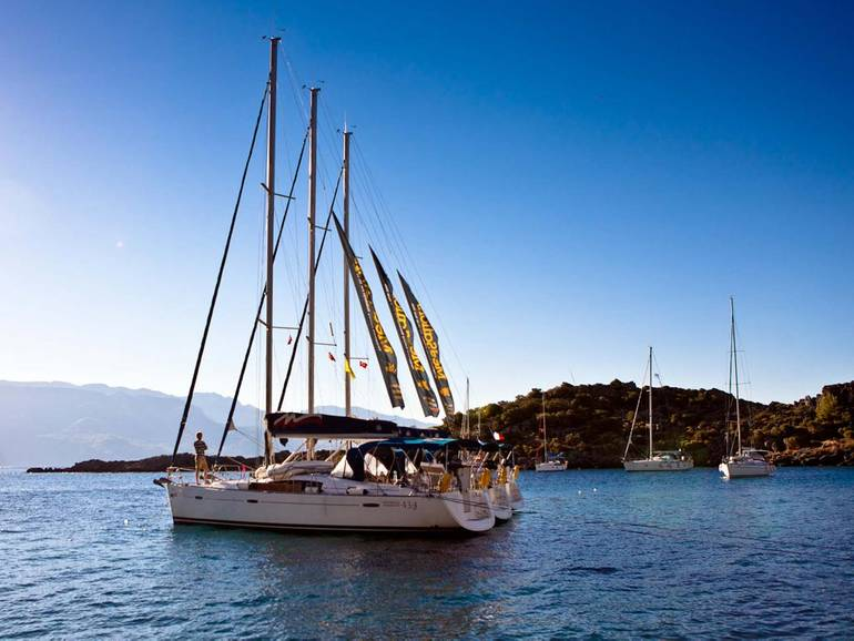 An adventure awaits when you're sailing Turkey!
