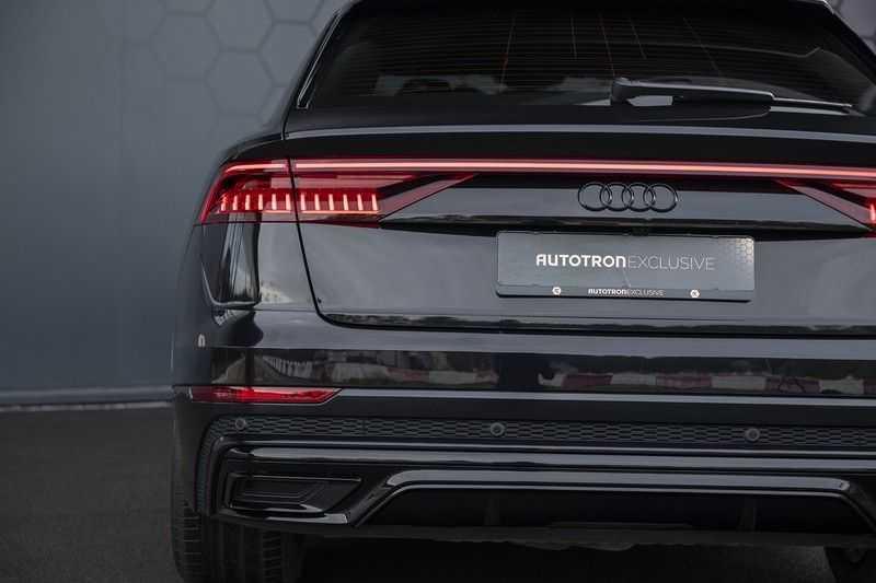 Audi Q8 55 TFSI quattro Pro Line S 3x S-Line! Black pack, 4-wiel-best. / Massage, Verw. & Koelb. stoelen, Bang & Olufsen 3D + Elek.Haak + Ambiente verlichting afbeelding 12