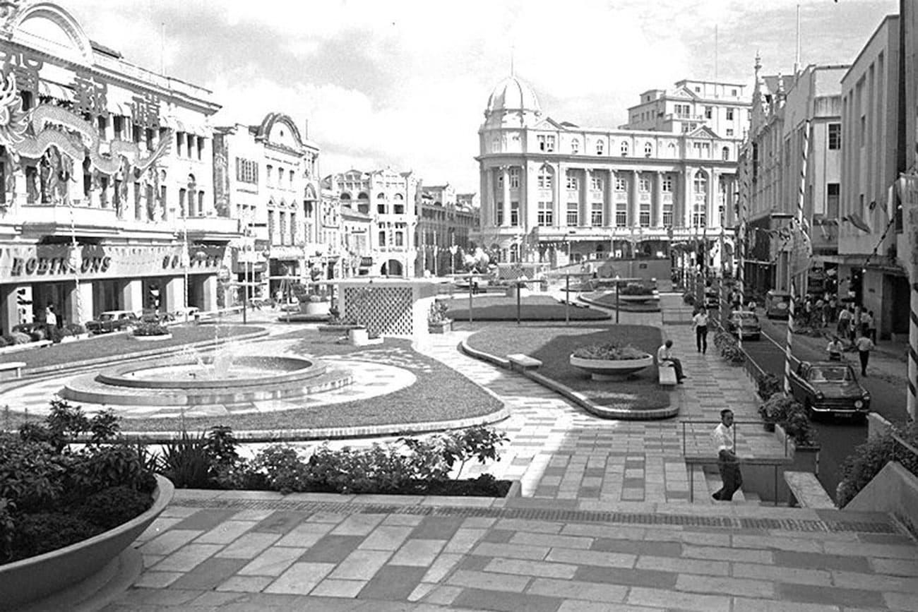 Raffles Place, 1966