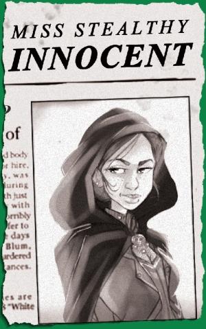 Miss Stealthy alibi card