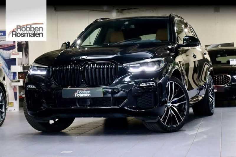 BMW X5 xDrive30d High Ex M-Sport NL|1Eig|22''|Shadow|HuD afbeelding 1