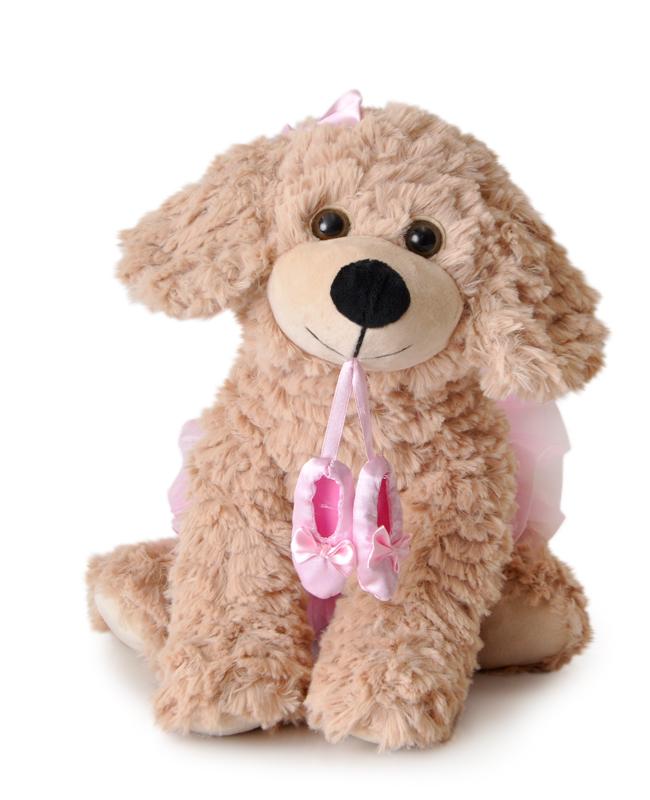 "The Petting Zoo: 12"" Ballerina  Scruffy Dog"