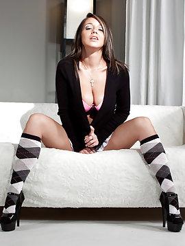 Skirt And Socks