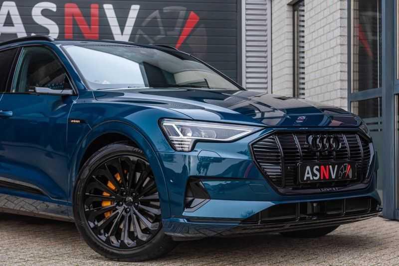 Audi e-tron 55 quattro advanced Pro Line Plus, 408 PK, 4% Bijtelling, Luchtvering, Surround View, Stad/Tour Pakket, B&O, EX. BTW!! afbeelding 22