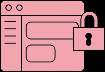 Locked Web App (Red)