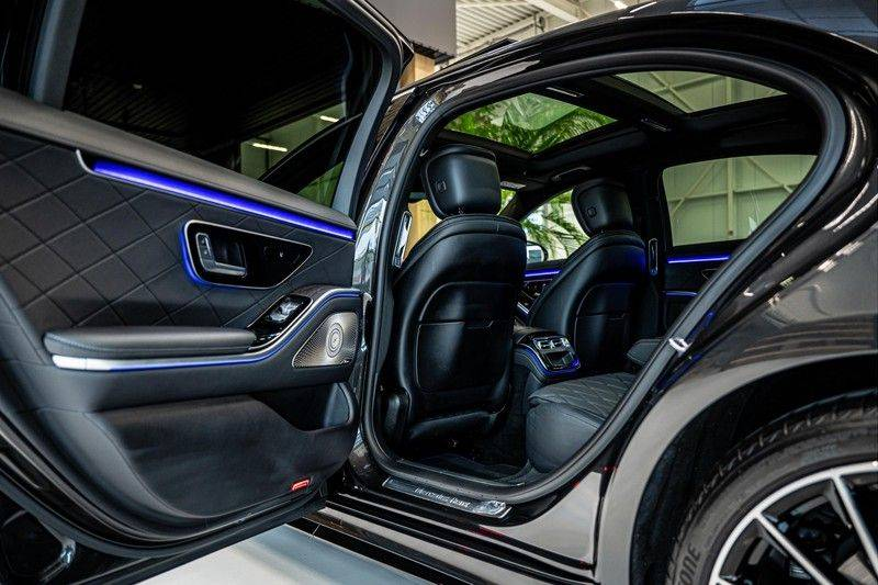 Mercedes-Benz S-Klasse 400d 4Matic Lang AMG | 3D Display | Augmented Head-Up Display | Burmester 3D | Pano | Memory afbeelding 21