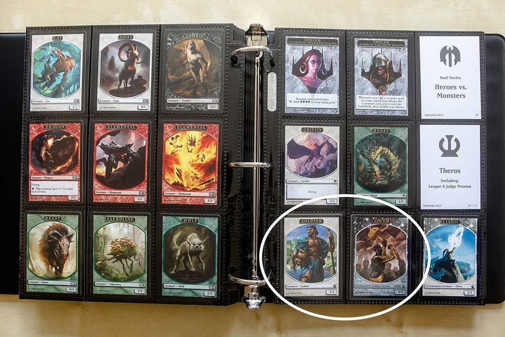 A collection of every MTG token card ever printed!