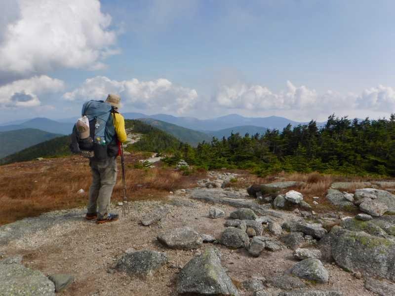 Stick on Saddleback Mountain