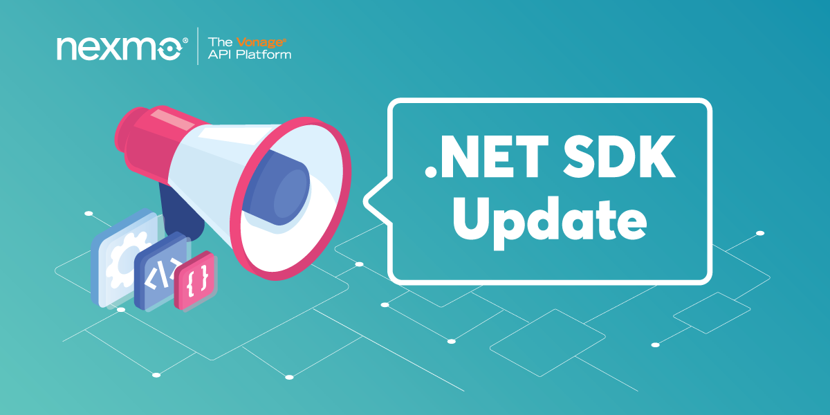 Announcing Nexmo's .NET Server SDK Version 4.3.0 Release
