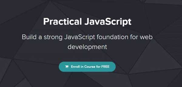 Practical JavaScript online JavaScript course