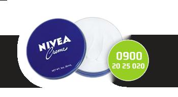 Nivea gebruikt een 0900-nummer.