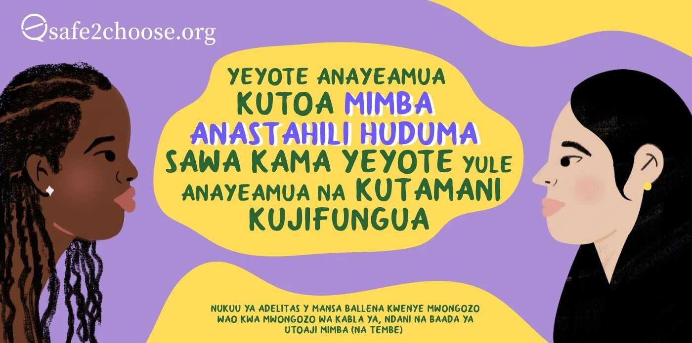 Kujitunza baada ya Kuondoa Mpaji wa Vuta (MVA)
