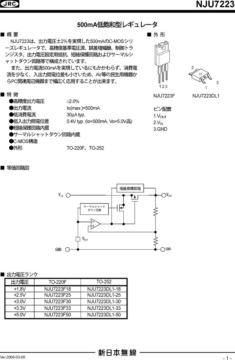 NJU7223DL1-01