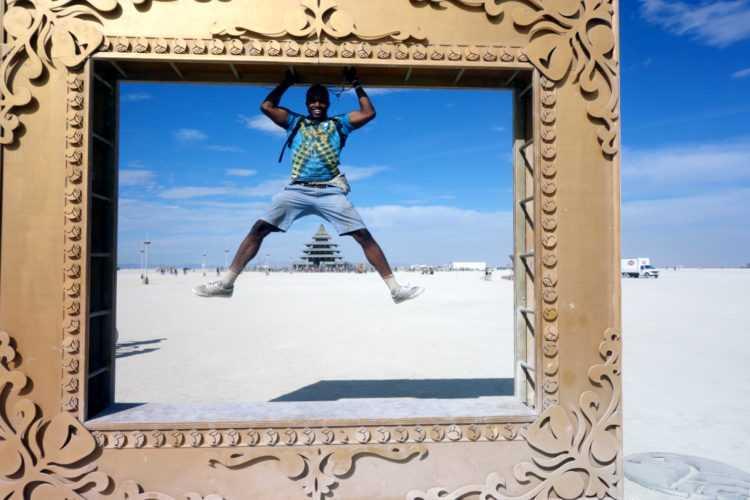 Burning Man Frame