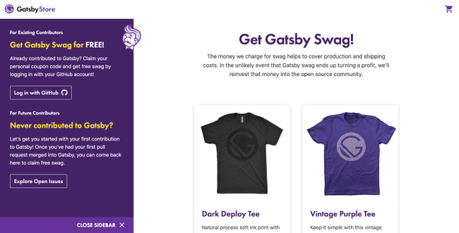 GatsbyJS Headless Shopify
