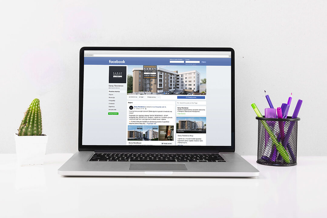 Project Saray Residence Real Estate, Facebook Campaign, Social Media