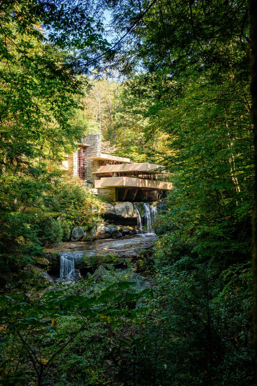 Fallingwater from the viewpoint