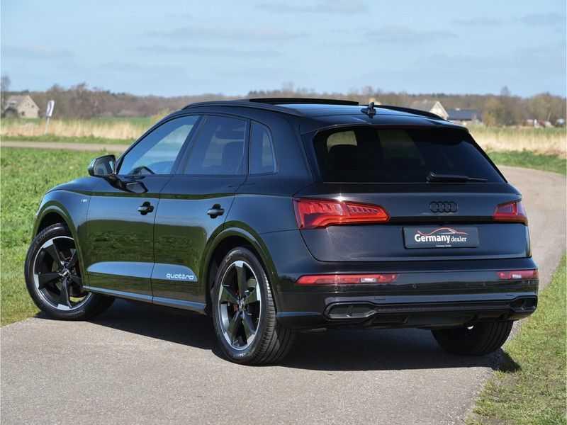Audi SQ5 3.0TFSI 354pk Quattro Black Optic Alle Opties! Individual Lucht Tr.Haak Standk Ruitleder 360Cam afbeelding 18