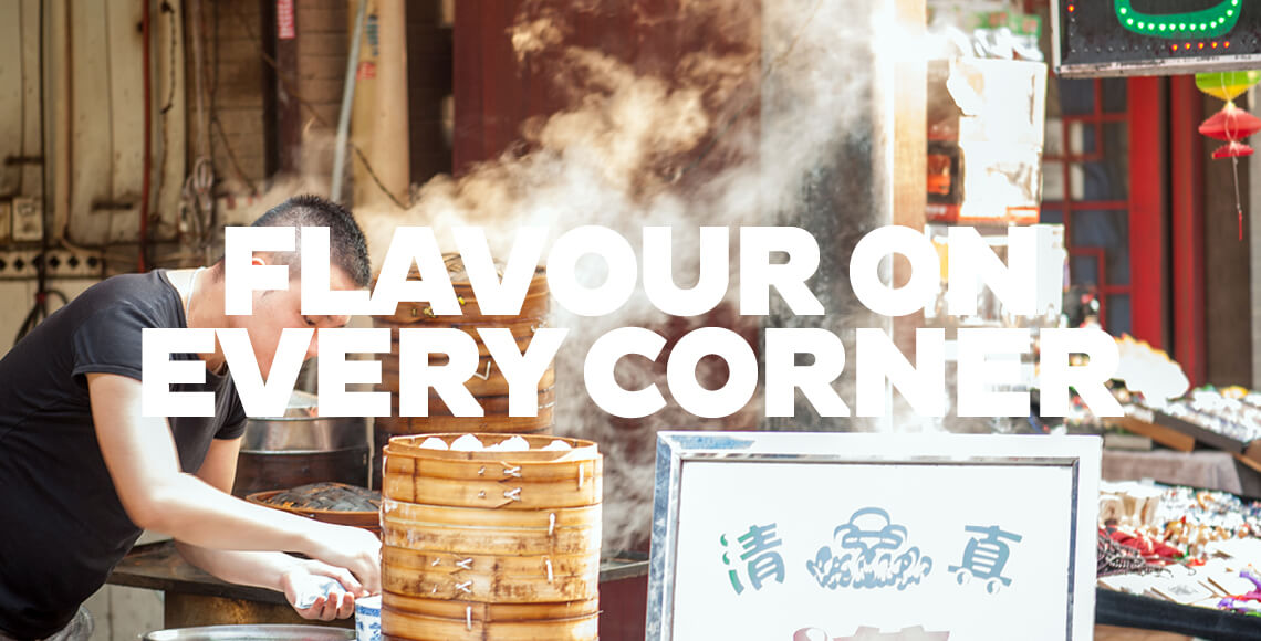 Flavour on Every Corner