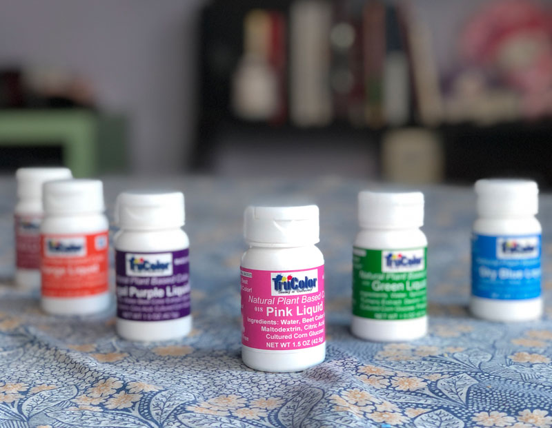 TruColor natural food dyes