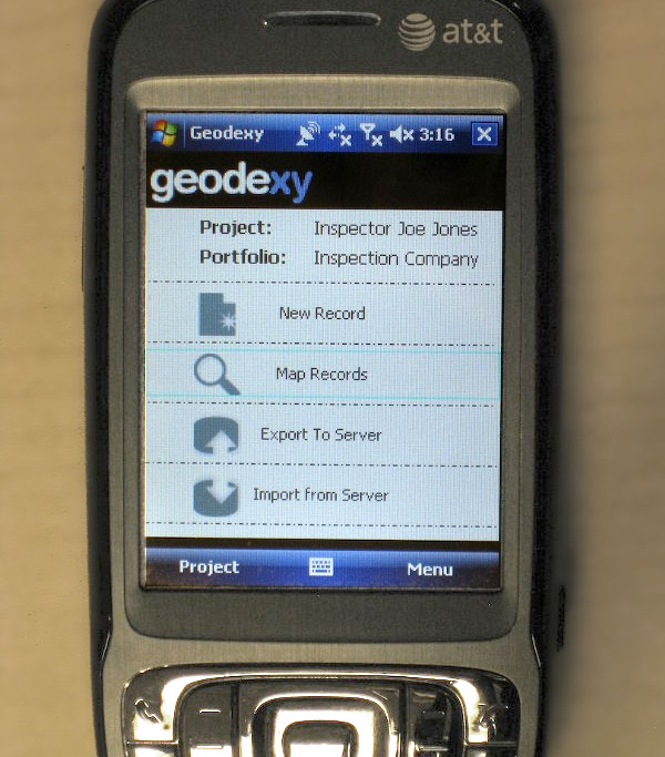 Windows Mobile version of Geodexy