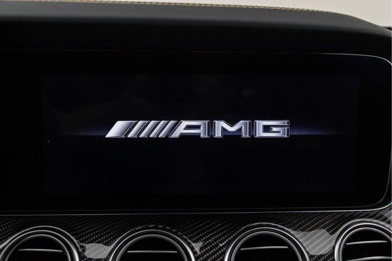 "Mercedes-Benz E-Klasse E63s AMG EDITION 1 4Matic 612pk (MAGNO MAT) Panoramadak Distronic Nightpakket Schaalstoelen Burmester Carbon ComandOnline Keyless 20"" Parktronic Pdc afbeelding 4"