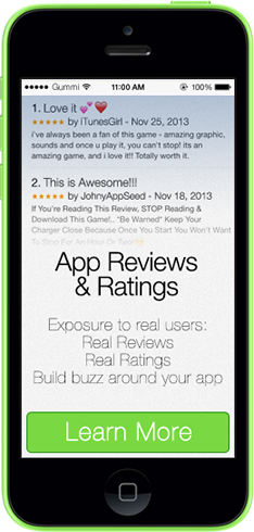 App Reviews & Ratings